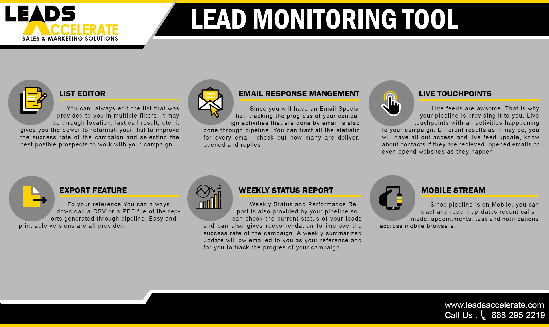 lead monitoring too 1 l